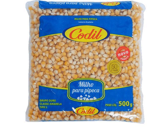Milho para Pipoca Codil